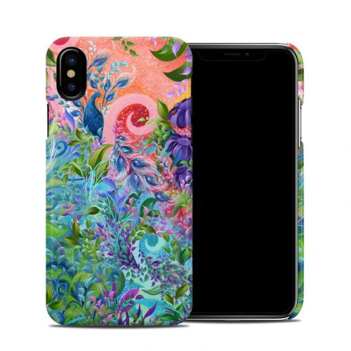 Fantasy Garden iPhone XS Clip Case