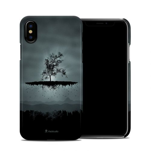 Flying Tree Black iPhone X Clip Case