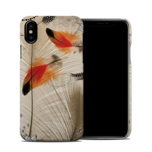 Feather Dance iPhone X Clip Case