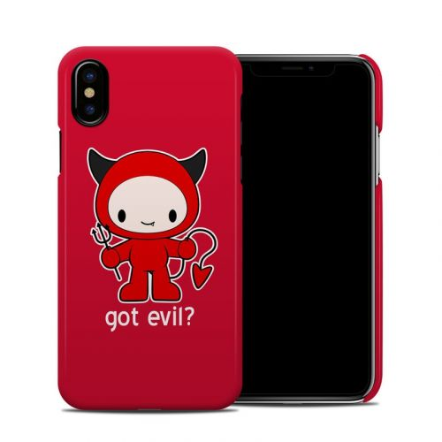 Got Evil iPhone XS Clip Case