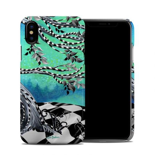 Haunted Tree iPhone X Clip Case