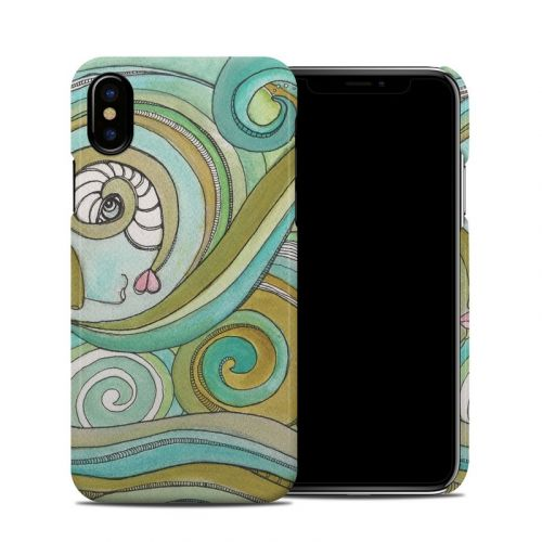 Honeydew Ocean iPhone X Clip Case