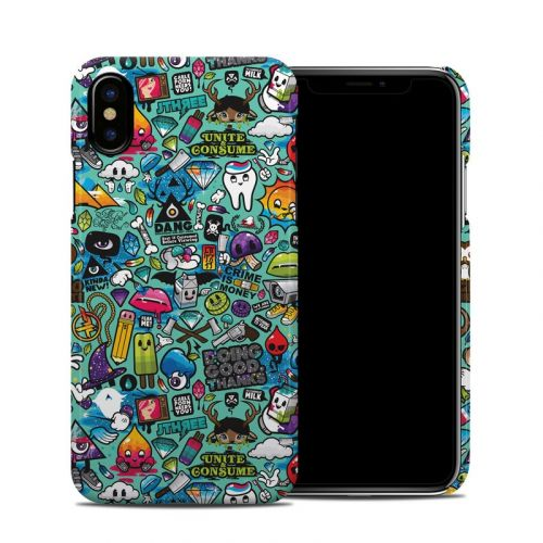 Jewel Thief iPhone X Clip Case