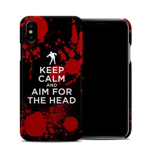 Zombie iPhone XS Clip Case