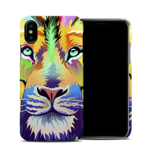 King of Technicolor iPhone XS Clip Case
