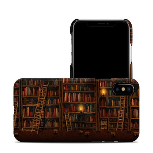 Library iPhone X Clip Case