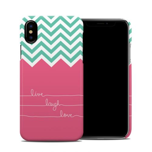 Live Laugh Love iPhone X Clip Case