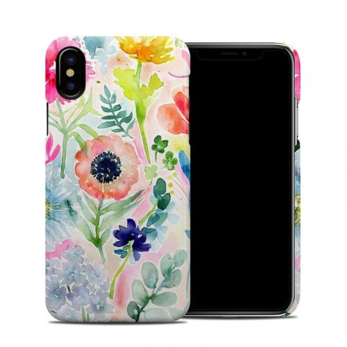 Loose Flowers iPhone X Clip Case