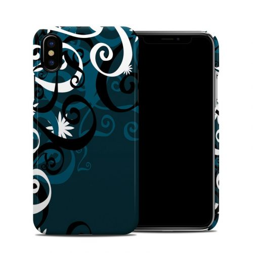 Midnight Garden iPhone XS Clip Case