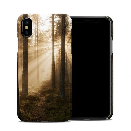 Misty Trail iPhone X Clip Case