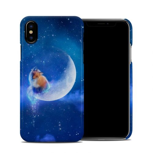 Moon Fox iPhone X Clip Case