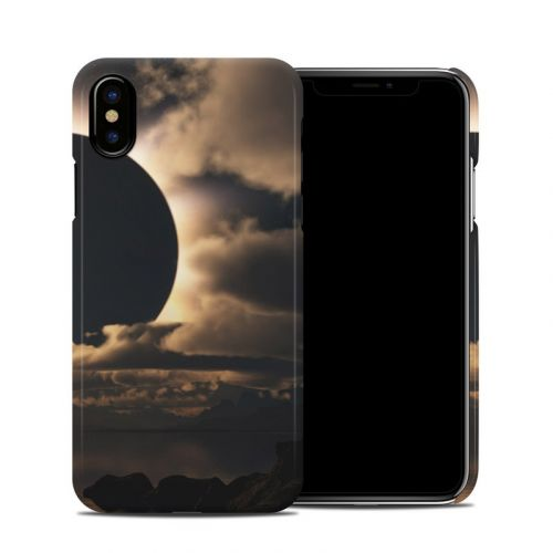Moon Shadow iPhone X Clip Case