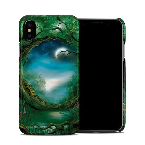 Moon Tree iPhone X Clip Case