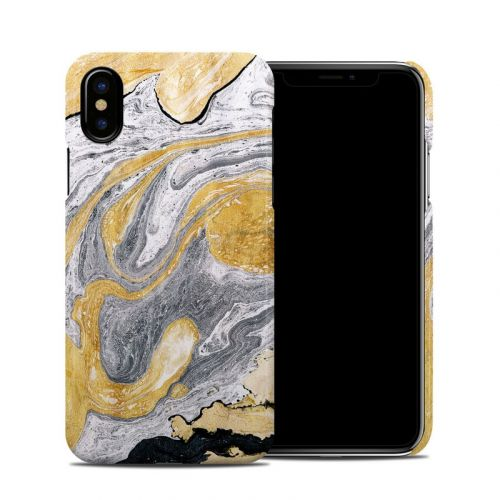 Ornate Marble iPhone X Clip Case
