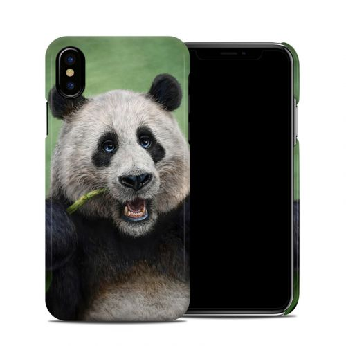 Panda Totem iPhone X Clip Case