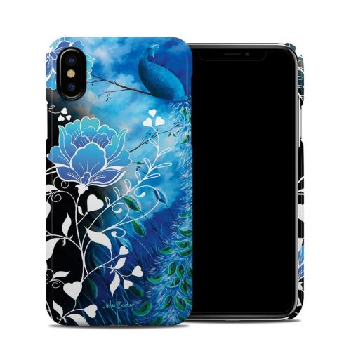 Peacock Sky iPhone X Clip Case