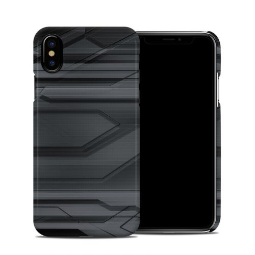 Plated iPhone XS Clip Case