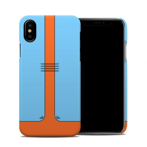 Retro Racer iPhone XS Clip Case