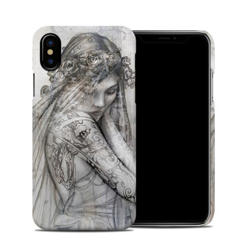 Scythe Bride iPhone XS Clip Case