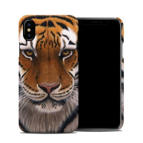 Siberian Tiger iPhone XS Clip Case