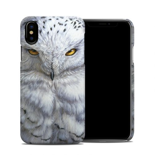 Snowy Owl iPhone XS Clip Case