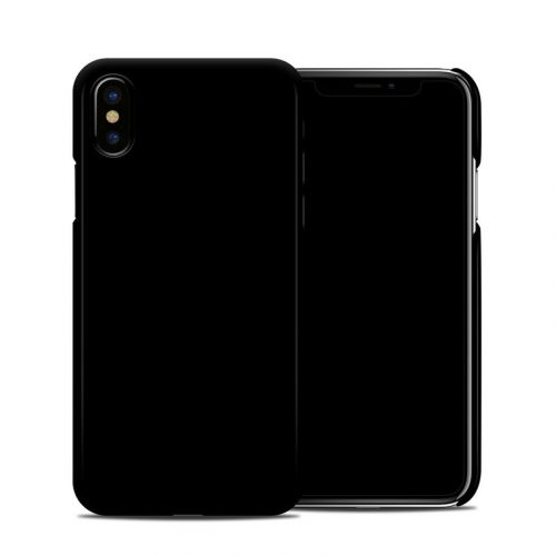 Solid State Black iPhone X Clip Case
