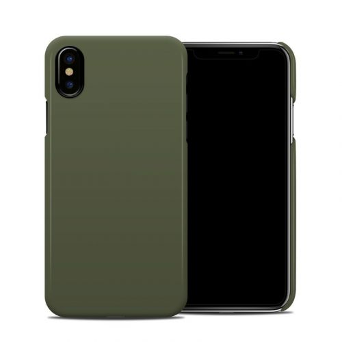Solid State Olive Drab iPhone XS Clip Case