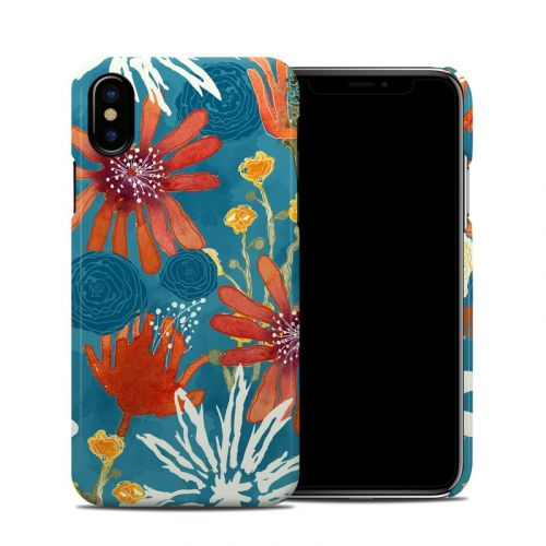Sunbaked Blooms iPhone X Clip Case