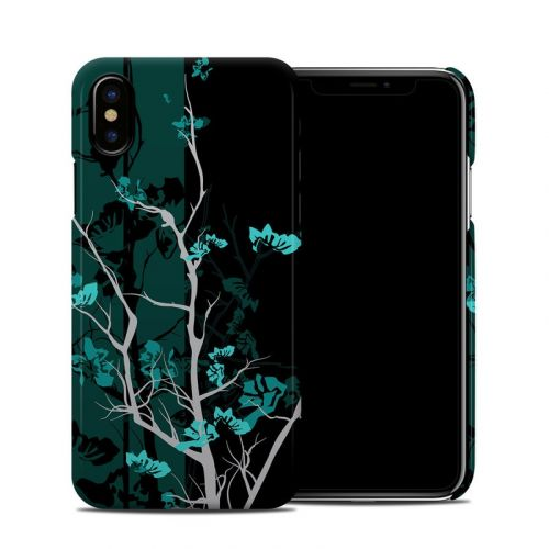 Aqua Tranquility iPhone X Clip Case