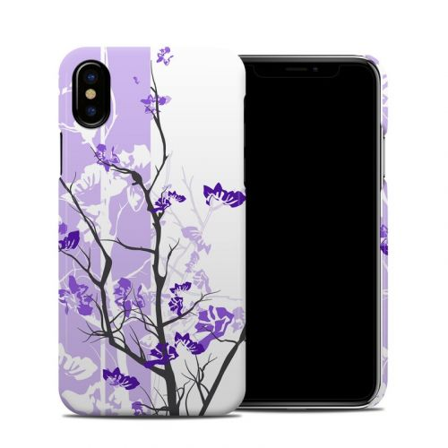 Violet Tranquility iPhone X Clip Case