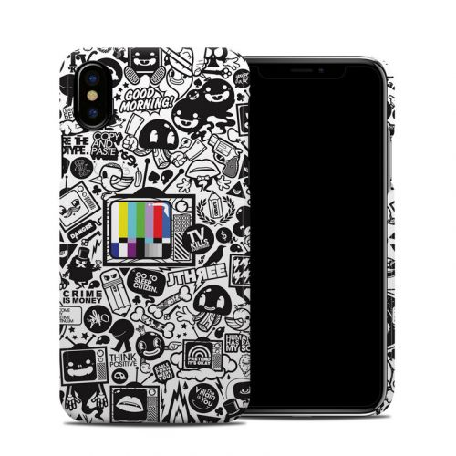 TV Kills Everything iPhone XS Clip Case