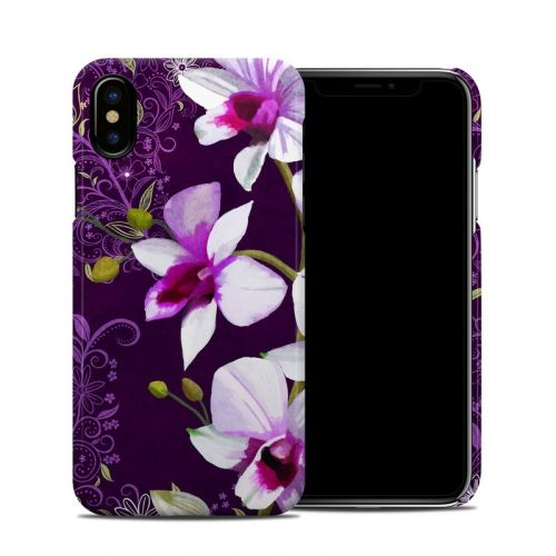 Violet Worlds iPhone X Clip Case