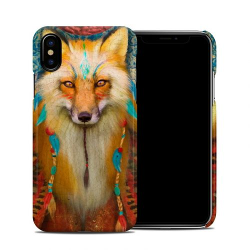 Wise Fox iPhone XS Clip Case