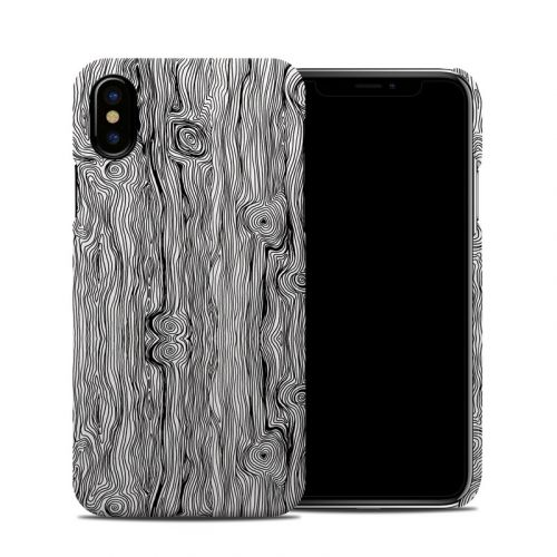 Woodgrain iPhone XS Clip Case