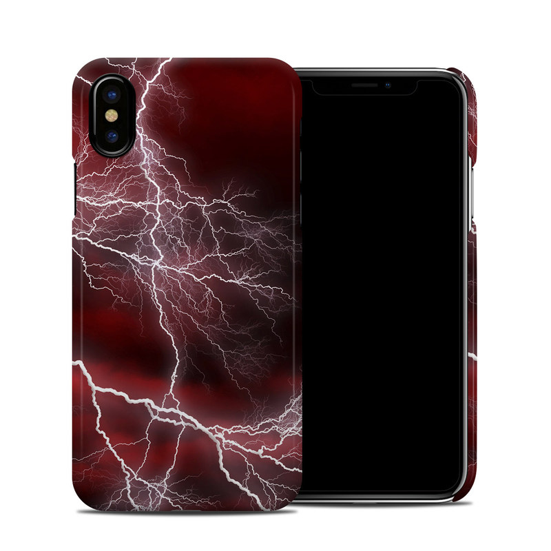 Apocalypse Red iPhone X Clip Case