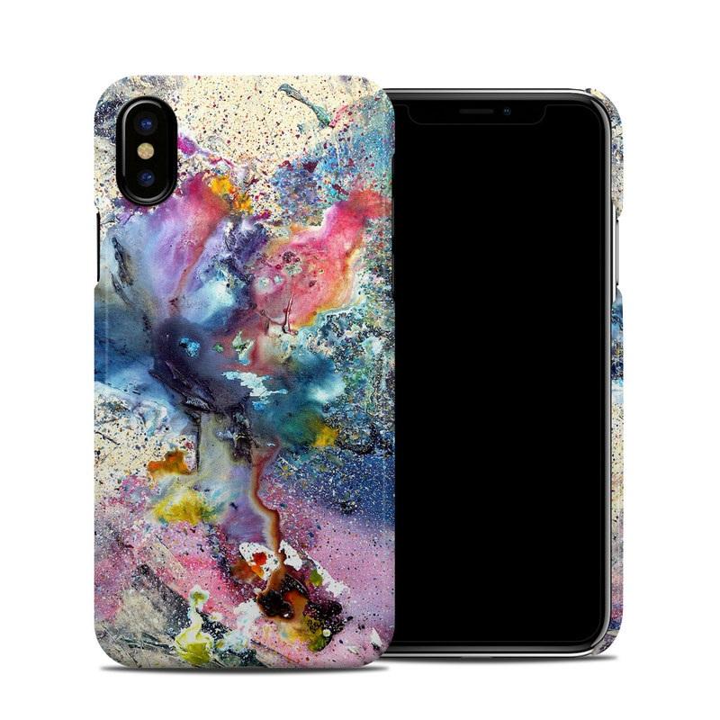 Cosmic Flower iPhone X Clip Case