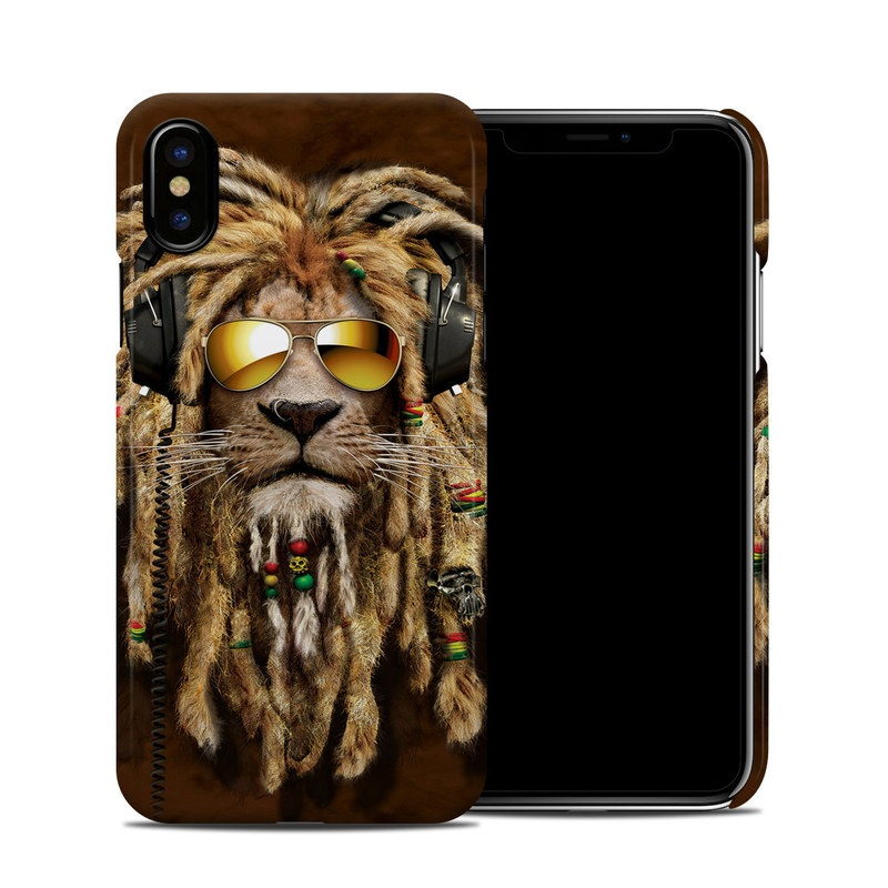 DJ Jahman iPhone XS Clip Case