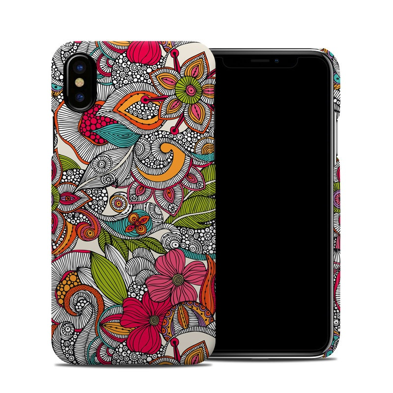 Doodles Color iPhone X Clip Case