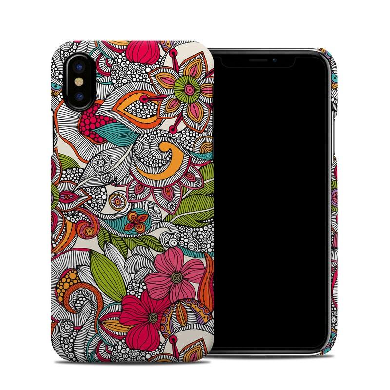 Doodles Color iPhone XS Clip Case