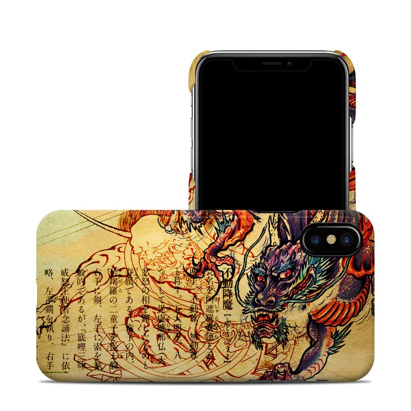Dragon Legend iPhone X Clip Case
