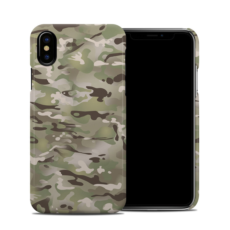 FC Camo iPhone X Clip Case