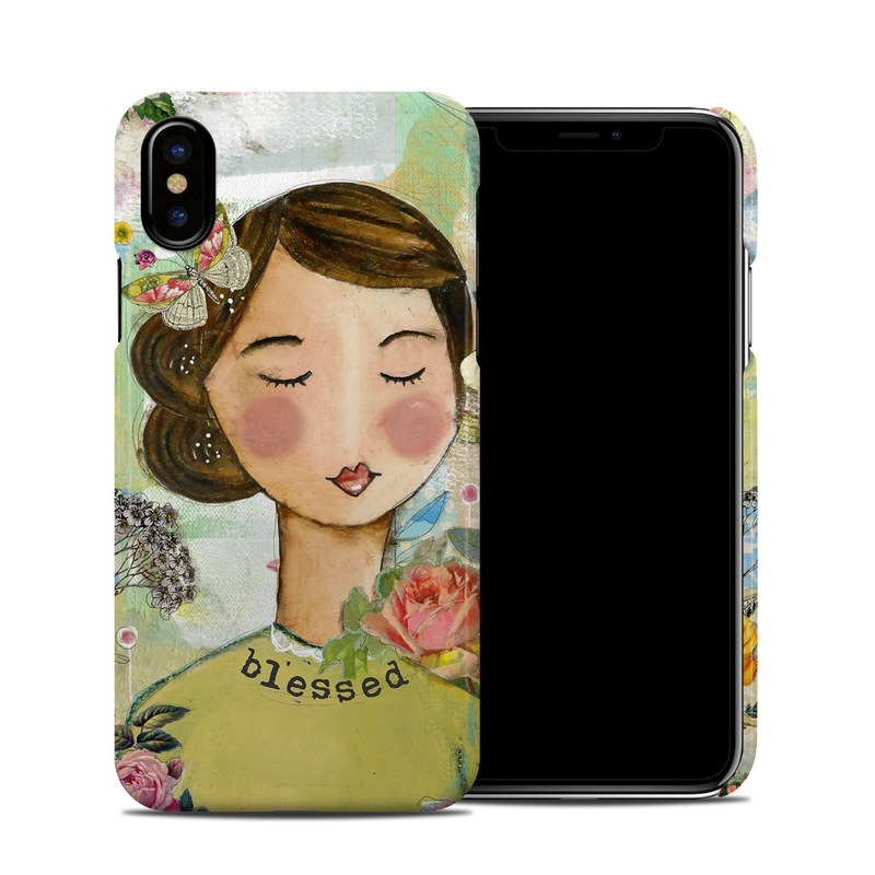 Grateful Soul iPhone XS Clip Case