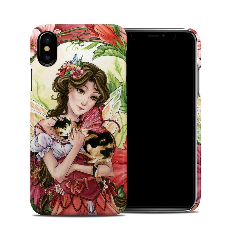 Hibiscus Fairy iPhone X Clip Case