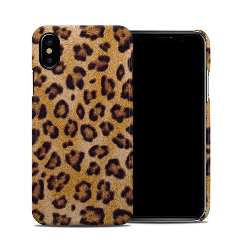 Leopard Spots iPhone X Clip Case