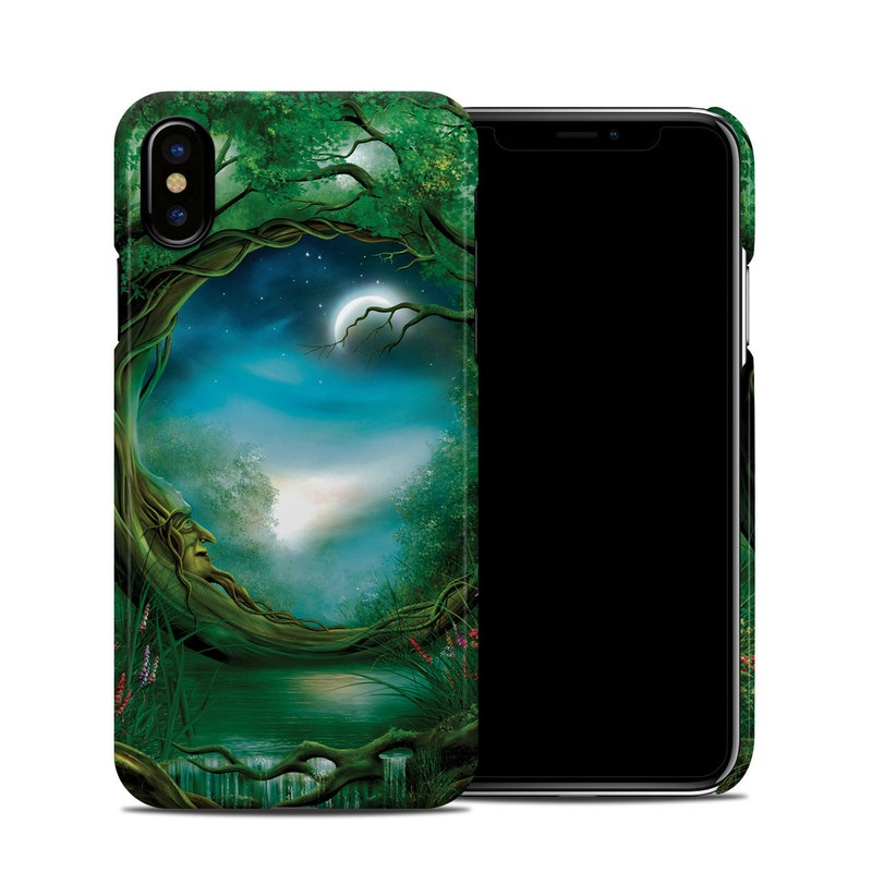 Moon Tree iPhone XS Clip Case