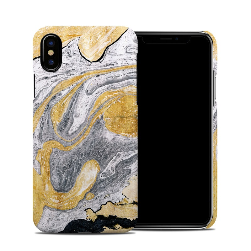 Ornate Marble iPhone XS Clip Case