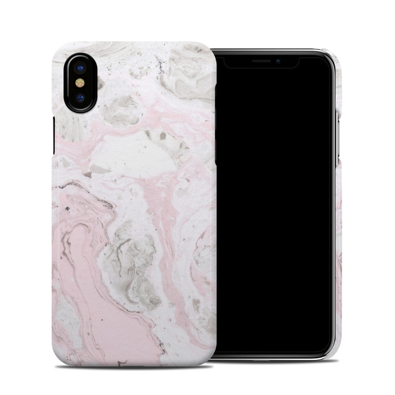 Rosa Marble iPhone X Clip Case