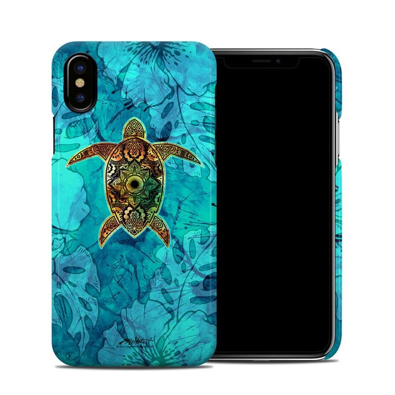 Sacred Honu iPhone X Clip Case