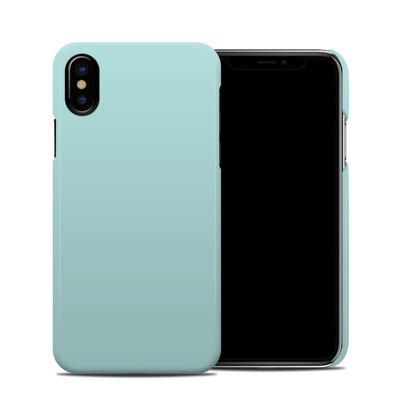 teal iphone xs case