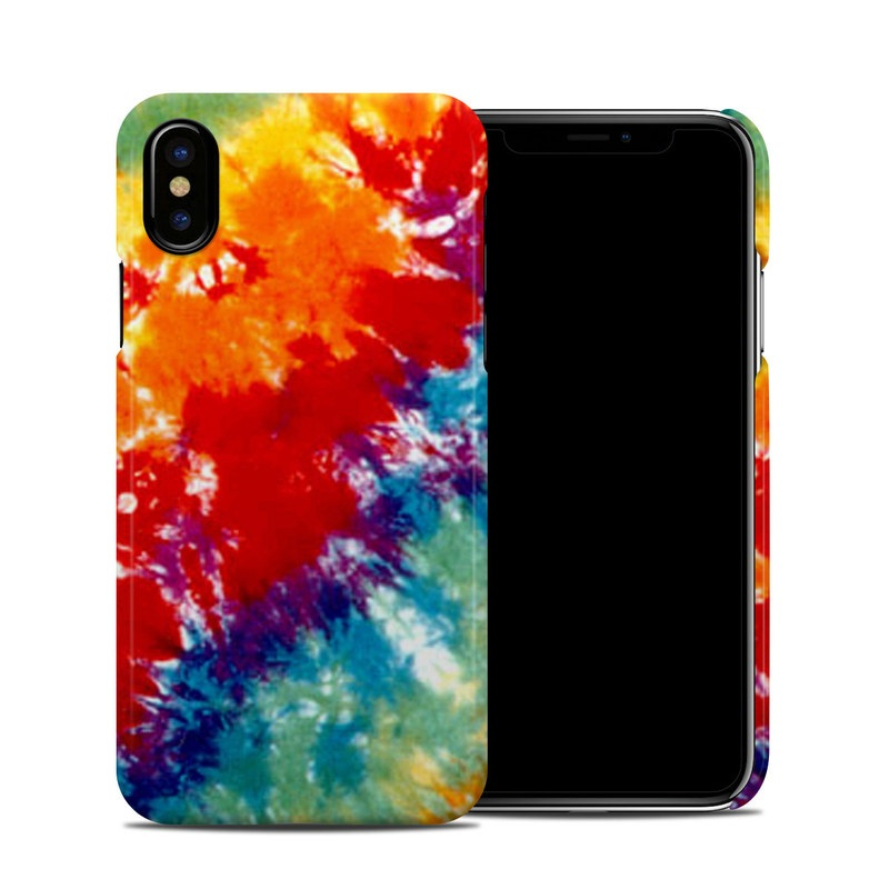 Tie Dyed iPhone XS Clip Case